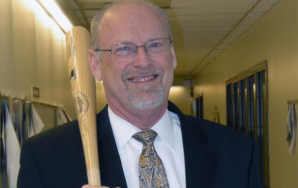 Peters is an expert in applied aerodynamics, but he also knows a thing or two about baseball. (Courtesy photo)