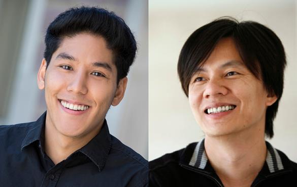 From left: Zeng, Li