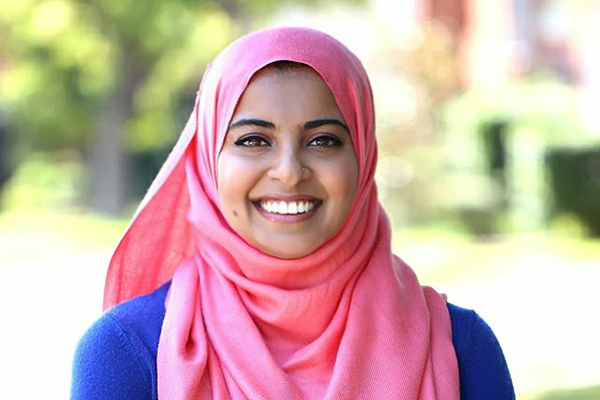 Despite detours, alumna Ahmad found her place in engineering