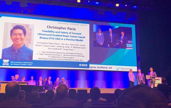 BME doctoral student wins prestigious paper award