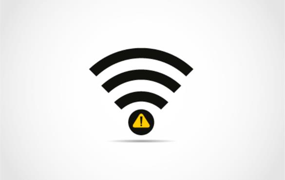 When Wi-Fi is weak, send noise instead