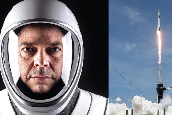 Alum astronaut makes history